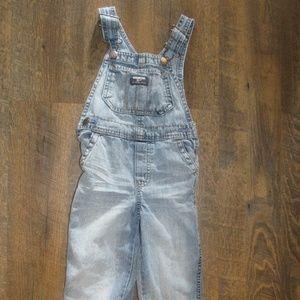 Oshkosh b'gosh overalls jeans toddler boy size 3T